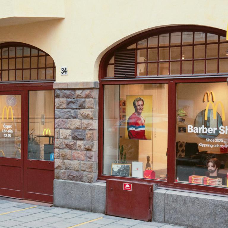 McDonald's відкрив перукарню у Стокгольмі