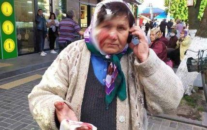 В Ровенской области бизнесвумен разбила пенсионерке об голову банку со сметаной