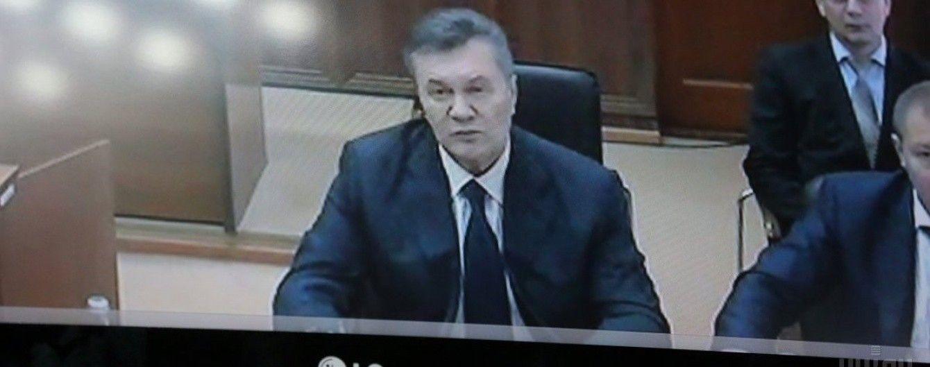 У прокуратурі пояснили, чому Янукович на допиті має статус свідка