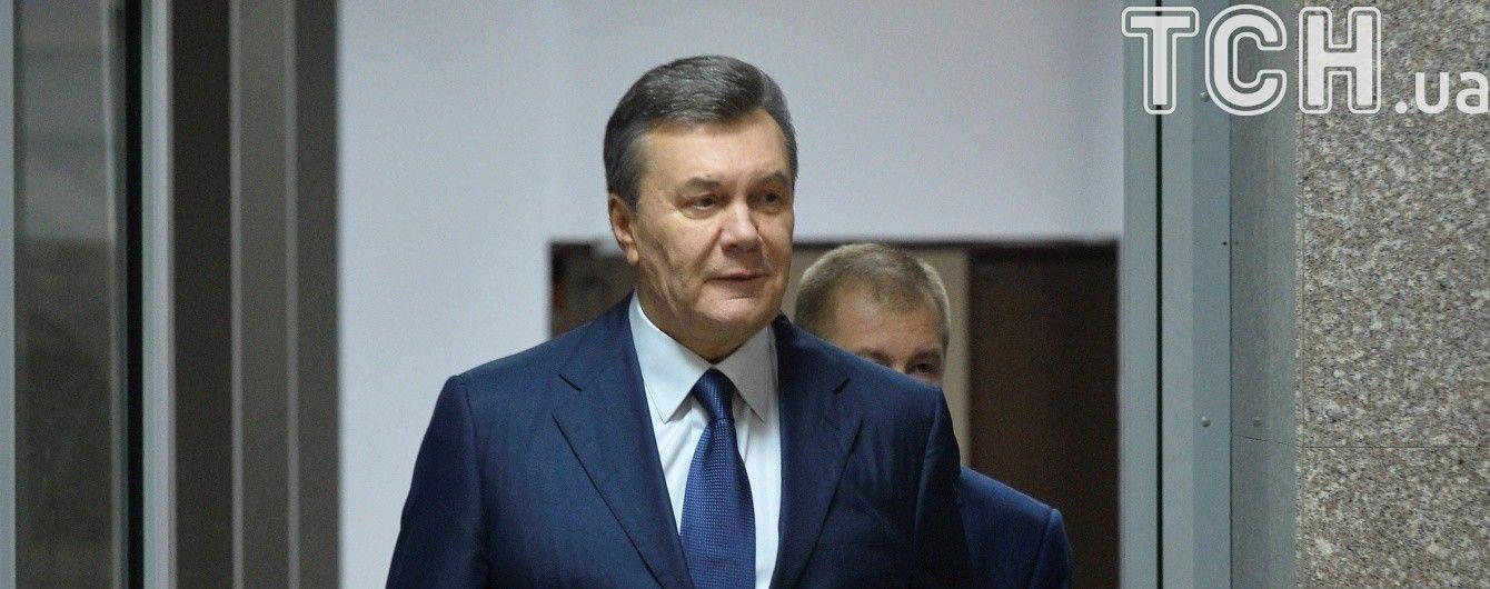 Янукович пішов від відповіді на запитання про повернення до України: хочу, аби Донбас воскрес