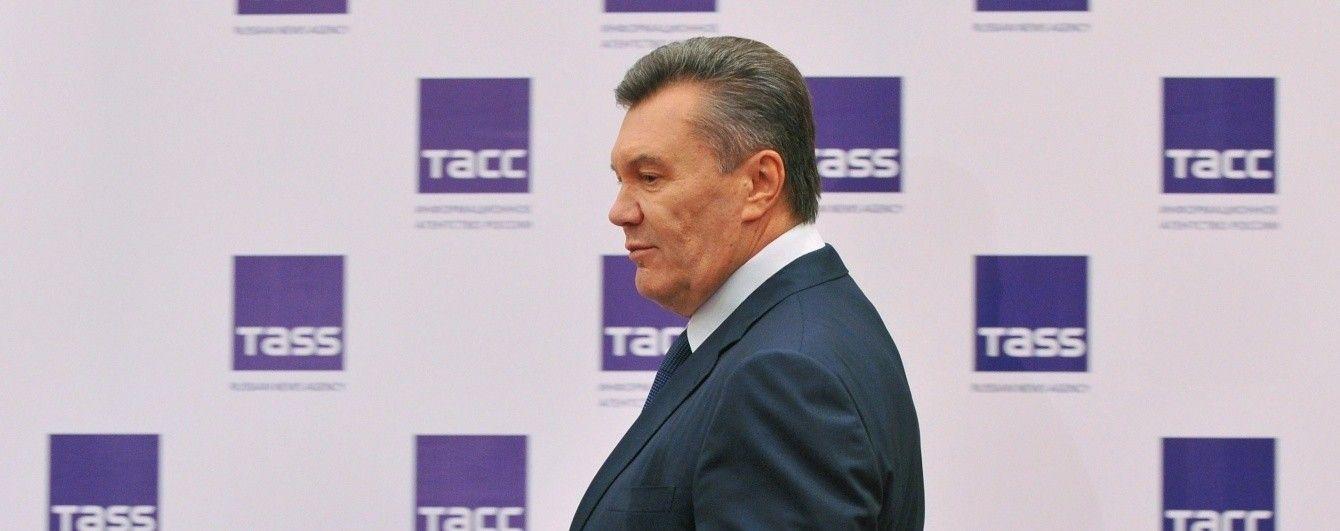 Янукович вперше підтвердив загибель молодшого сина