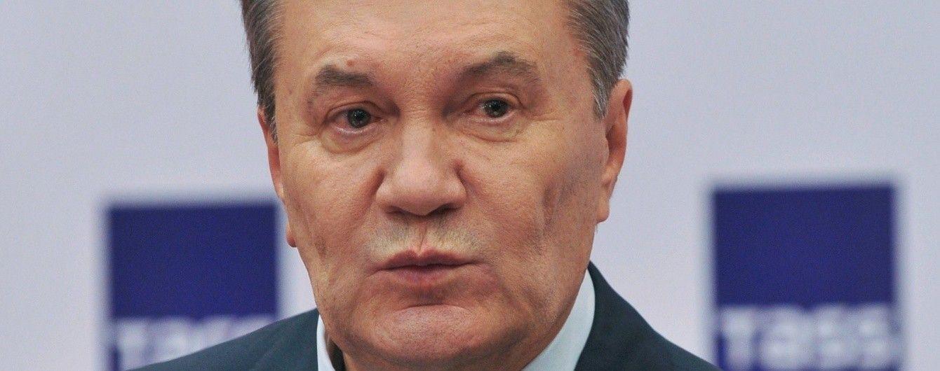 Янукович заявил о готовности принять участие в судебном деле о разгоне Евромайдана