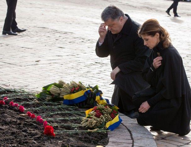Президентське подружжя вшанувало пам'ять жертв Голодомору