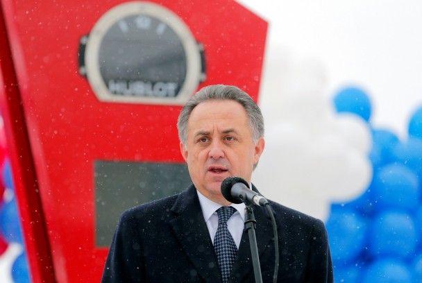 Инфантино запустил в Казани часы с обратным отсчетом времени до старта ЧМ-2018