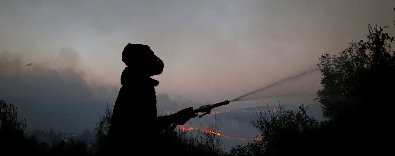 Українські літаки почали гасити лісові пожежі в Ізраїлі