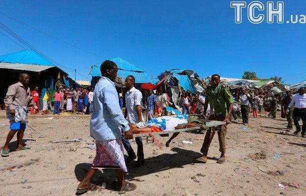 Потужний вибух вщент розніс ринок у Сомалі і забрав десяток життів