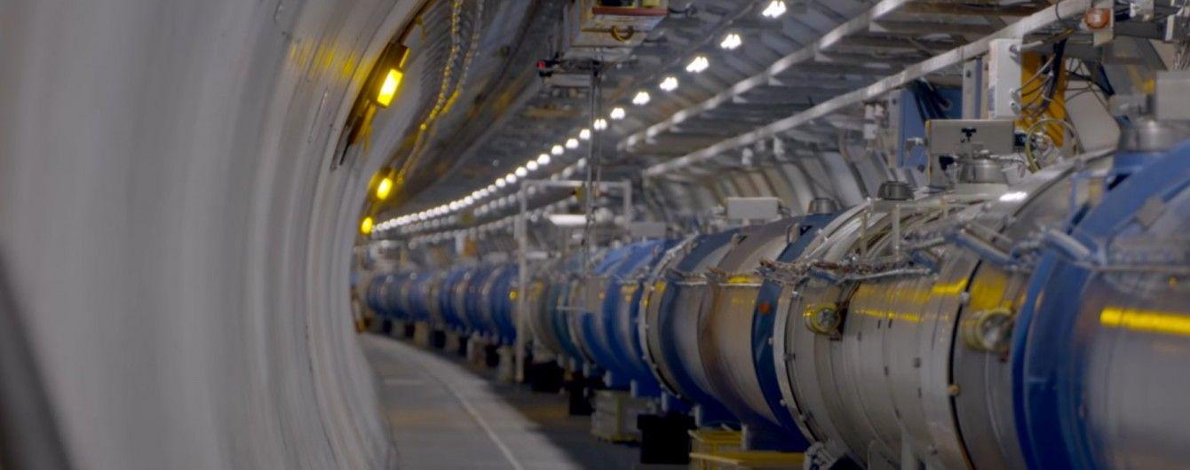 У Великий адронний колайдер помістили робота для спостереження за тунелем