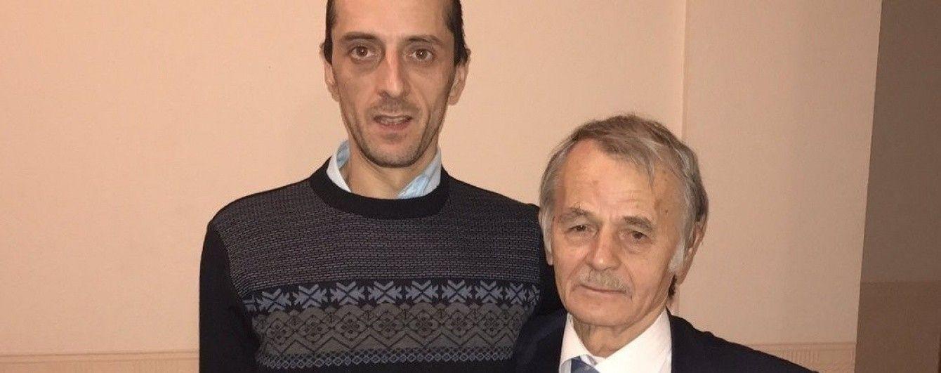 Хайсер Джемілєв прибув до Києва і зустрівся з батьком
