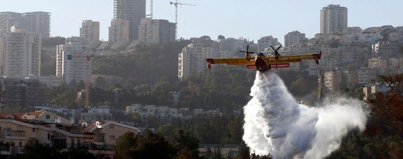 В Ізраїлі у нещадних підпалах підозрюють вже понад три десятки осіб