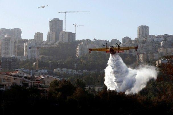 Ізраїль у вогні: лісові пожежі приборкують рятувальники вже з 10 країн