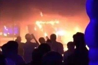 З'явилися відео пожежі у львівському нічному клубі