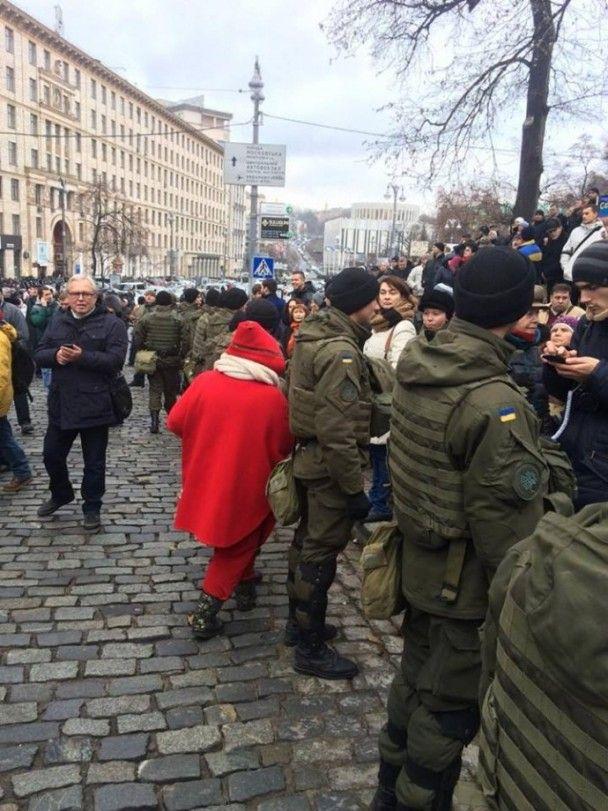 Саакашвілі зібрав мітинг у центрі Києва і закликав до перевиборів