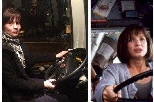 В Естонії пасажирка кермувала автобусом замість п'яного водія