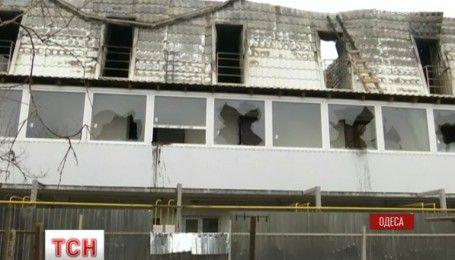 В одесской новостройке выгорели дотла десять квартир