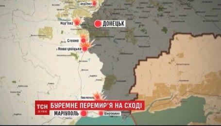В районе Станицы Луганской боевики сорвали запланированое разведение сил