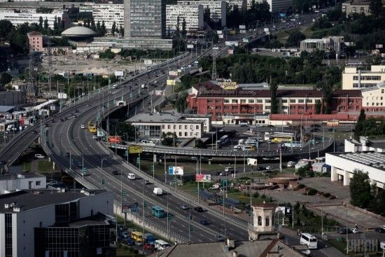 У Києві горів Центральний автовокзал