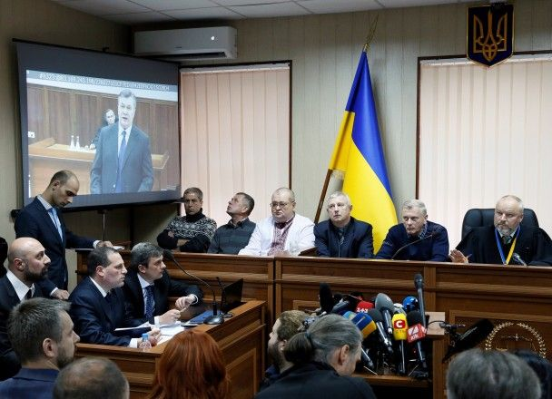 Янукович підозрює європейських лідерів у«змові» щодо держперевороту вУкраїні