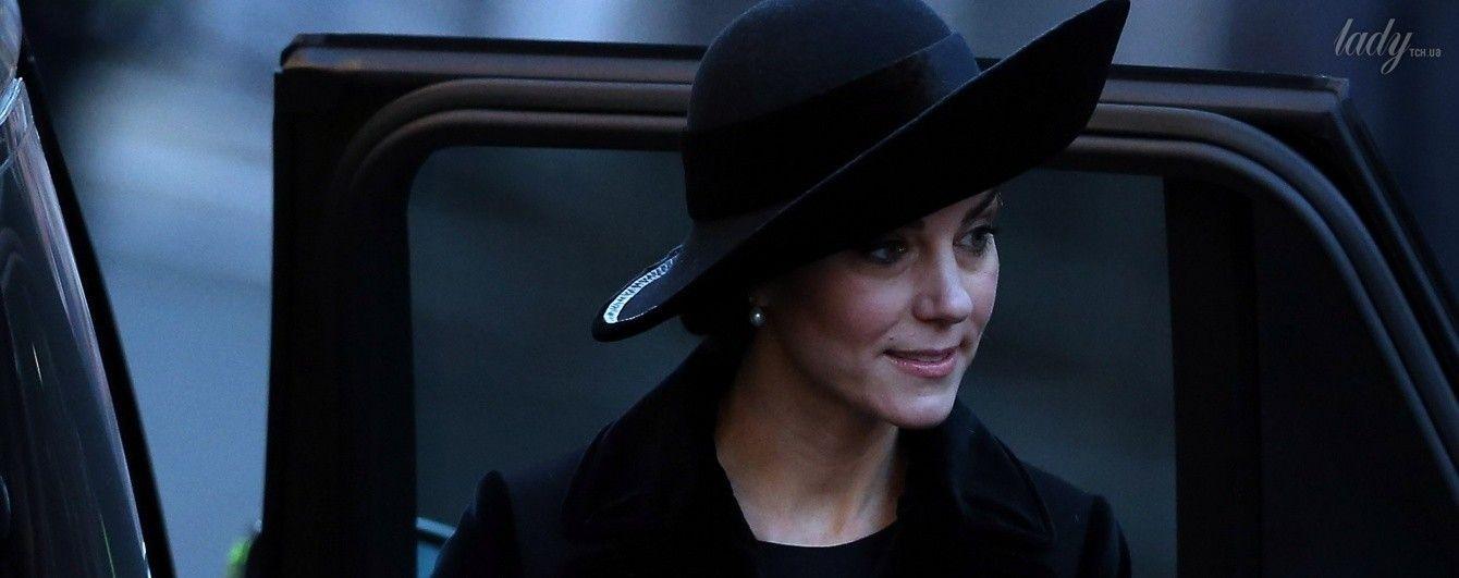 Неудачный выбор: герцогиня Кембриджская подчеркнула нарядом свой уставший вид