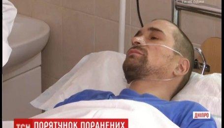Областная больница Мечникова принимает раненых бойцов АТО