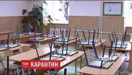 В Черновцах школы закрыли на карантин: заболели почти 16% учеников