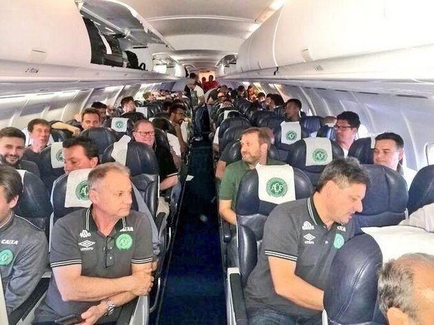 Колумбія, літак, катастрофа, футболісти
