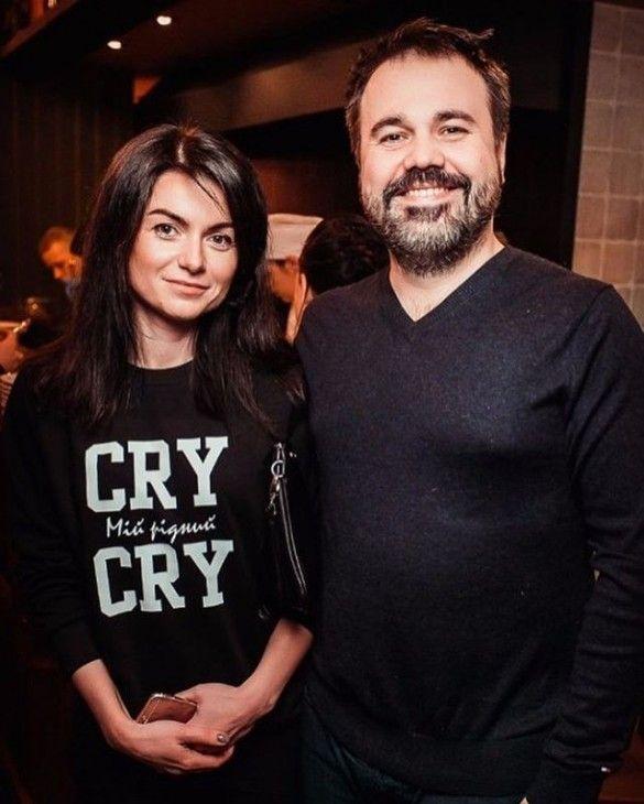 Антон Лірник з дружиною Мариною