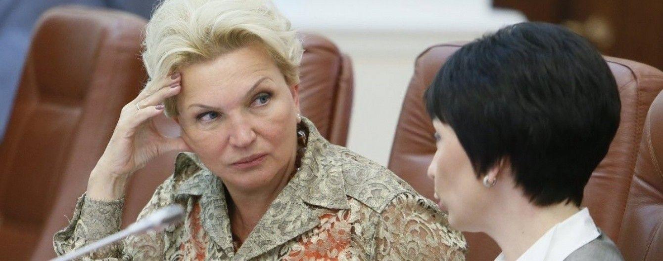 ГПУ викликала на допит екс-міністра Богатирьову