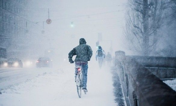 Снігопад у Гельсінкі