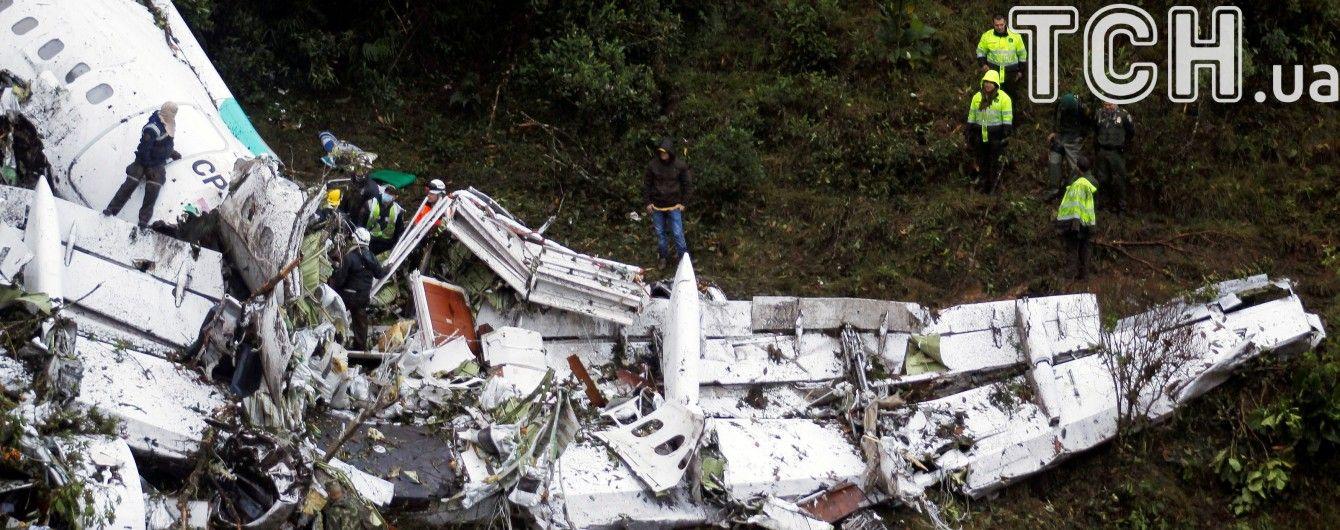 Літак, який розбився у Колумбії, затримувався на 20 хвилин через пошук відеогри футболіста