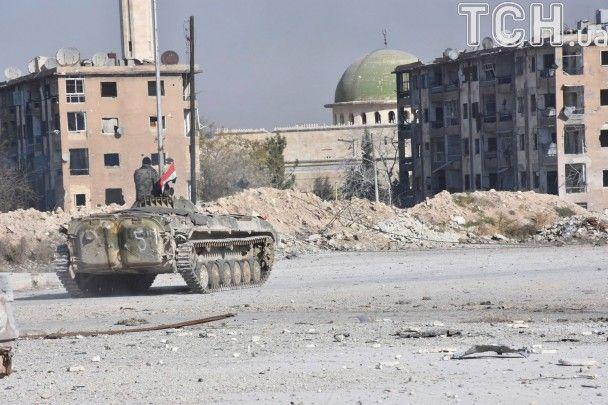 Армія Асада і союзники хочуть повернути контроль над Алеппо до інавгурації Трампа