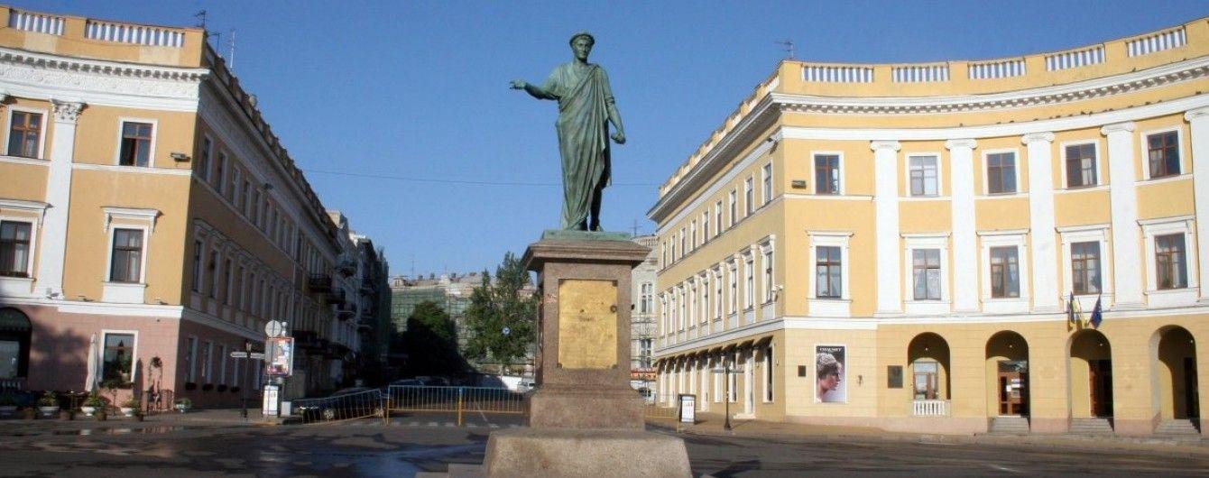 В Одесі IT-фахівці створили 3D-модель пам'ятника Дюка