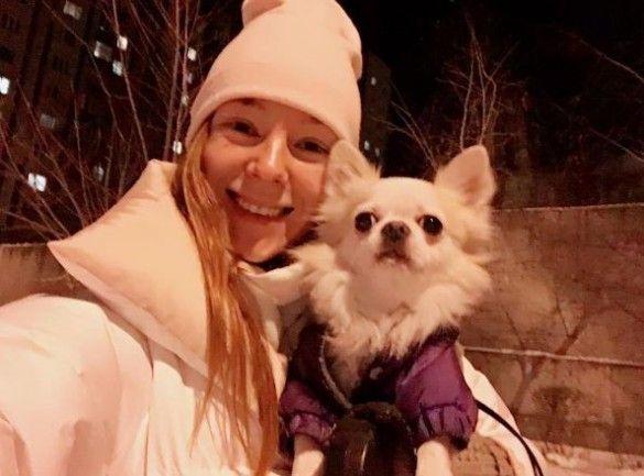 Тарабарова із собакою