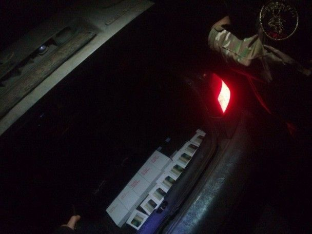 У зоні АТО викрили контрабандні телефони, одяг та будматеріали на понад півмільйона гривень