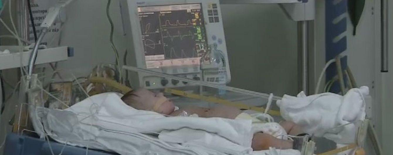 Украинцы собрали для спасения детей с пороками сердца более 1,7 миллиона гривен
