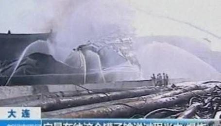 Китай очищает Желтое море после взрывов на нефтепроводах