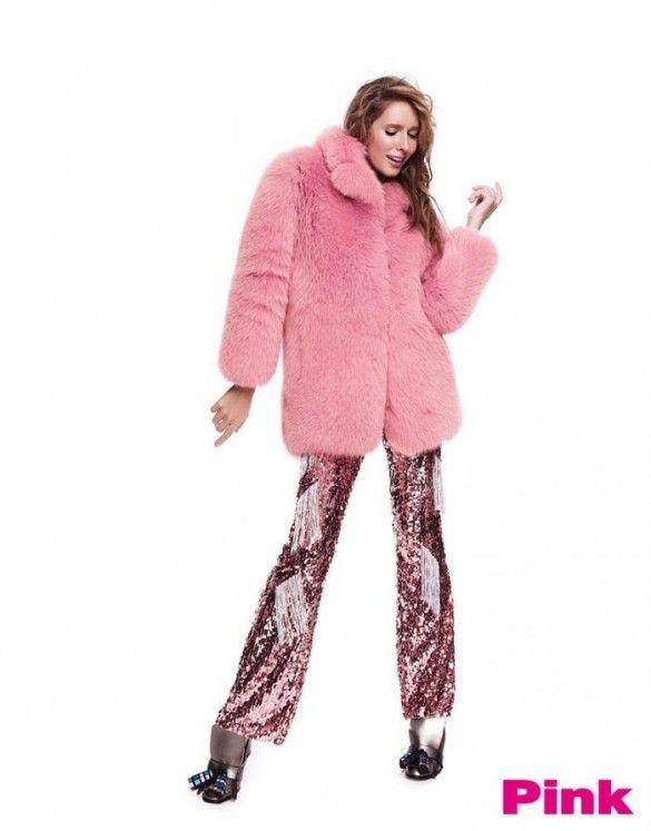 Осадча у журналі Pink