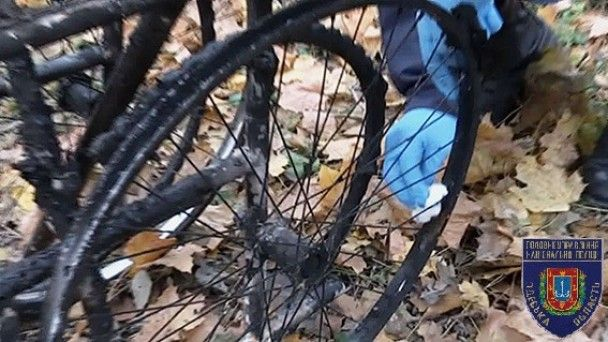 В парке Одессы нашли обгоревшее тело на инвалидной коляске