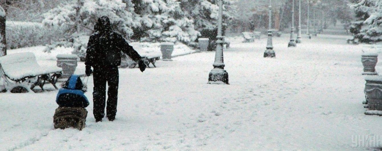 В Украину надвигается лютый циклон, который принесет снегопады и метели. Прогноз на 2-3 декабря