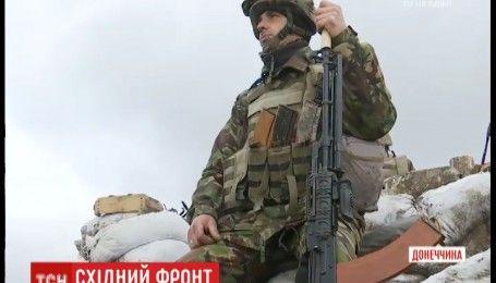 Как украинские воины защищают свои позиции от агрессора в Гранитном
