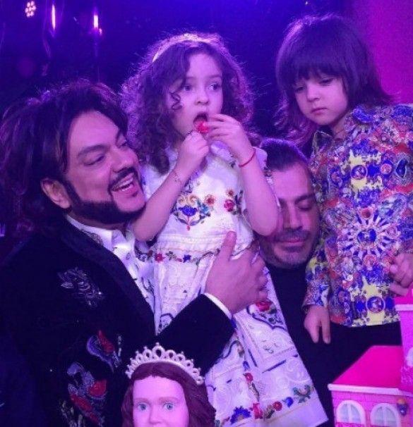 Філіп Кіркоров відсвяткував день народження доньки