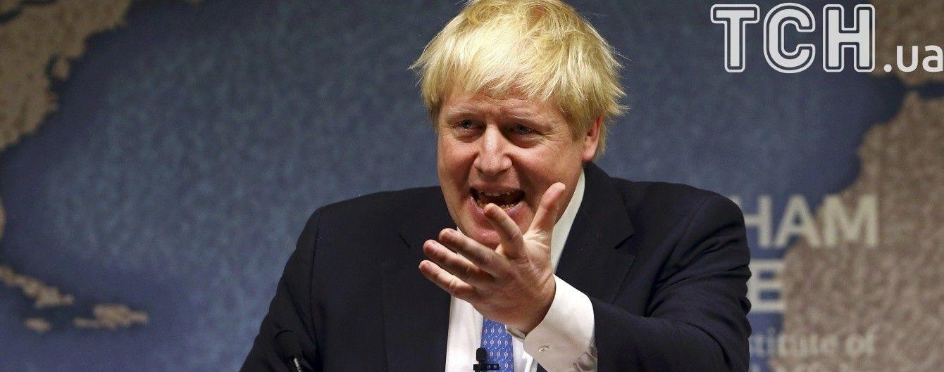 Джонсон выступил с заявлением после ударов по объектам химического оружия Асада