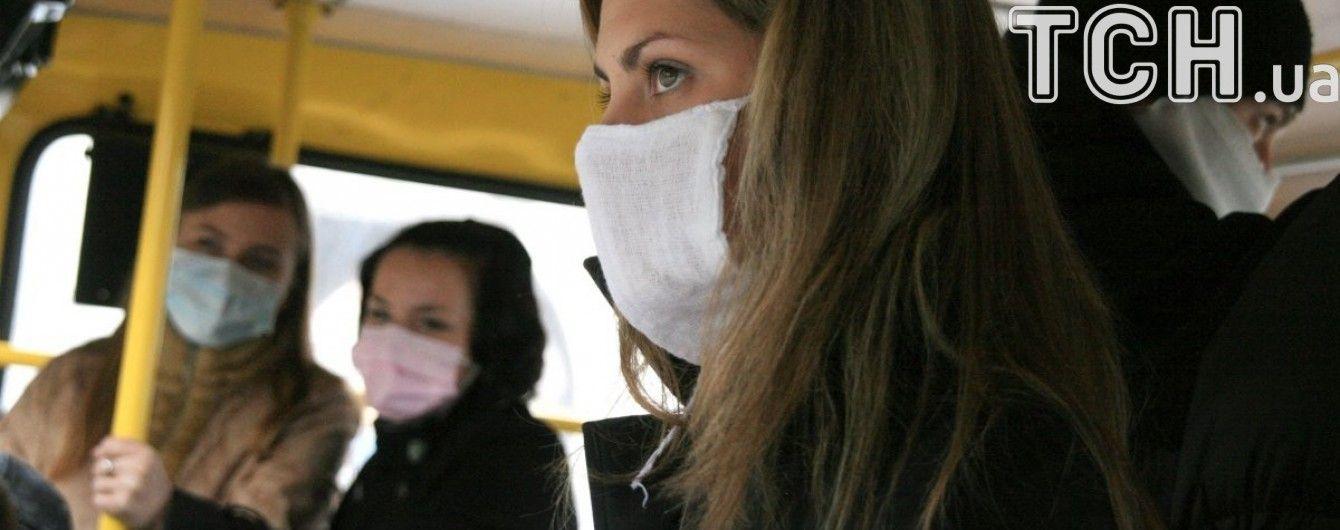 Понад 190 тисяч людей захворіли на ГРВІ в Україні за минулий тиждень