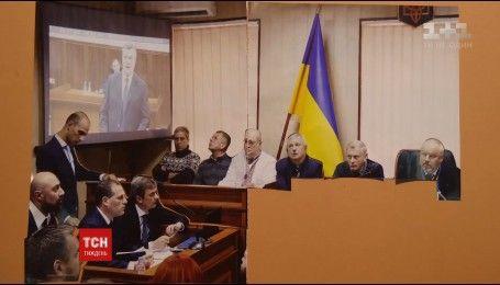 Допрос Януковича стал основой для создания мультфильма