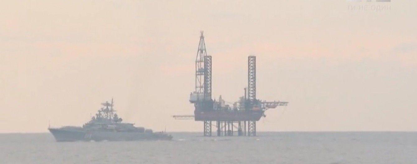 Російські окупанти Криму крадуть газ з материкового шельфу України в Чорному морі