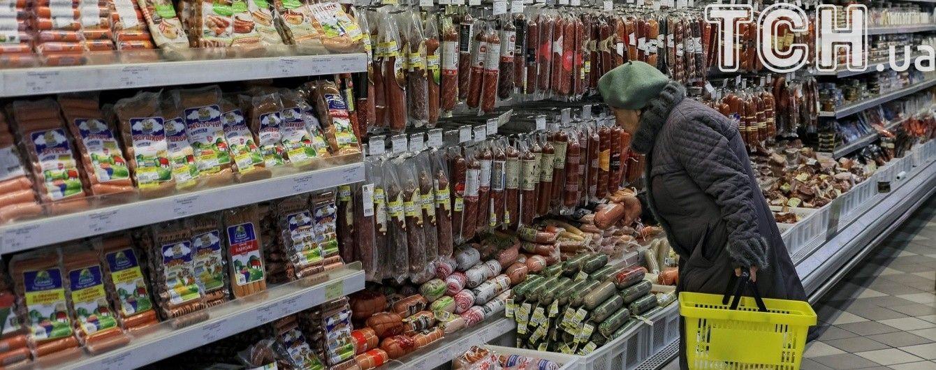 Українці не доїдають фруктів та м'яса, а солодощів – переїдають. Інфографіка