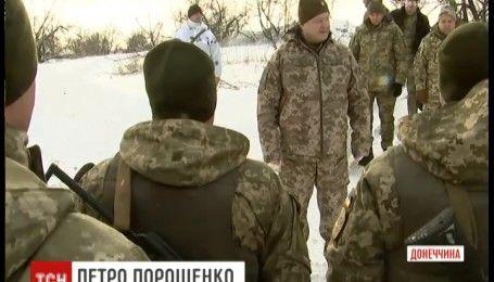 Збройні сили України відзначають ювілей. Президент привітав воїнів на передових позиціях фронту