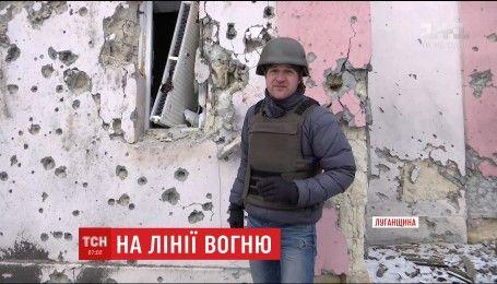 Українські військові знищили вогневу точку бойовиків на Луганщині
