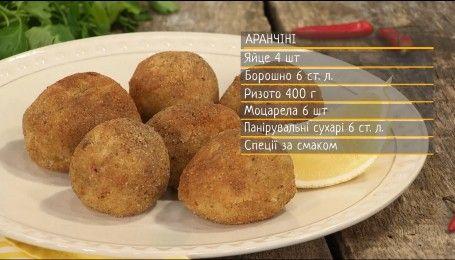 Аранчини - рецепты Сеничкина