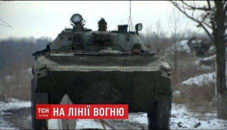 На Луганщині українські військові знищили вогневу точку бойовиків