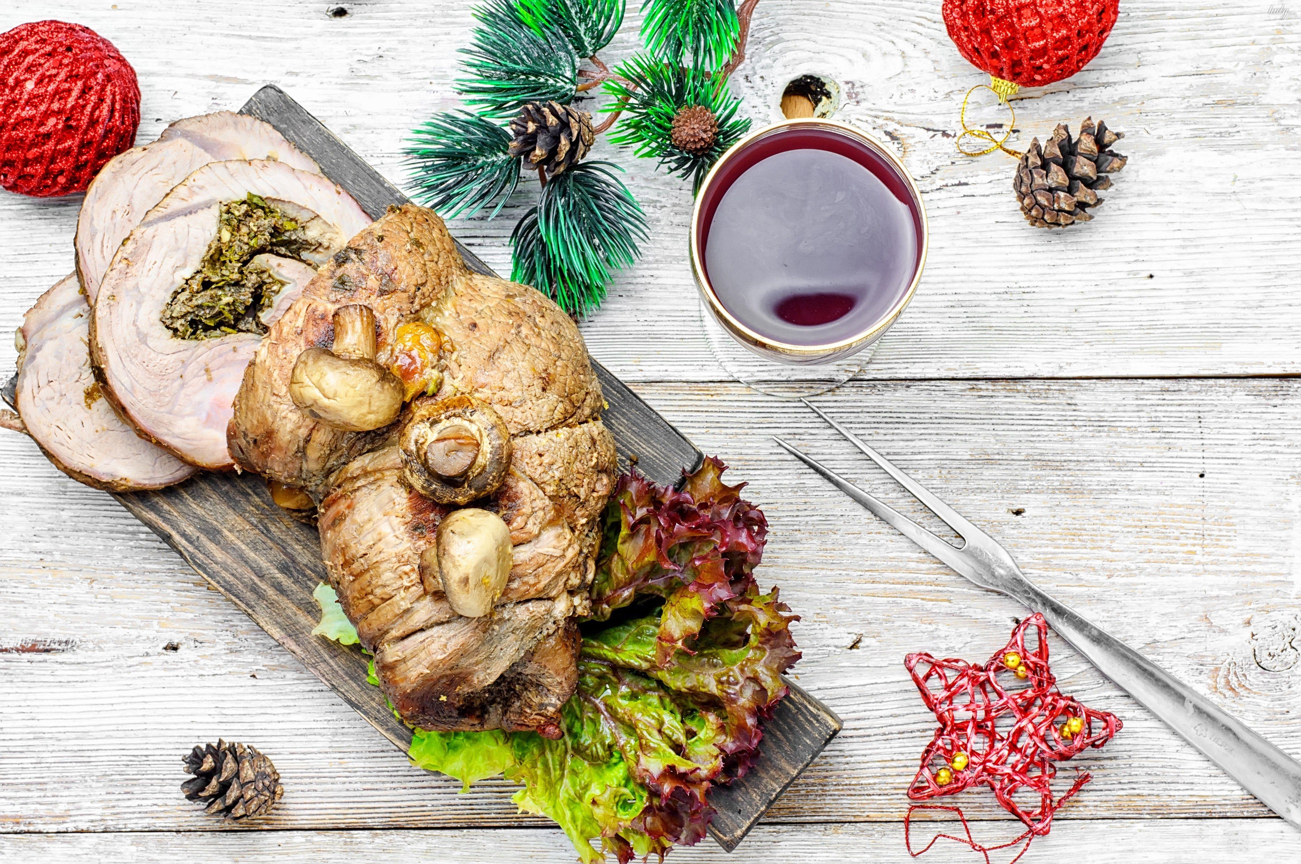 новый год, еда, оливье _2